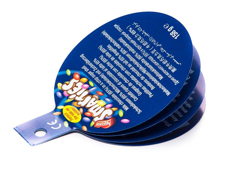 Mini Booklet als Produktanhänger